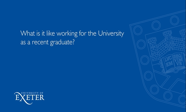 What is it like working for the University as a recent graduate? Tyler Mills, Education Catalyst